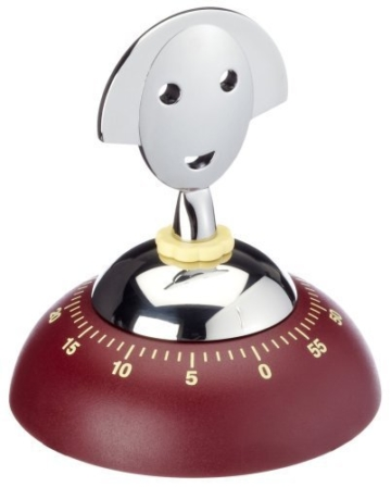 Alessi AM09R Anna Kitchen Timer Red by Alessi -