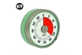 Cabanaz Küchentimer / Eieruhr -60 min Vintage green -