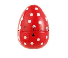 Eddingtons 60 Minuten Eieruhr, rot/gepunktet - 1
