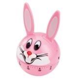 Horwood fait-minuteur Analog Bunny rosa -