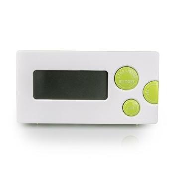 Incutex digitaler Küchentimer Kurzzeitmesser Eieruhr Stoppuhr mit LCD Display und Befestigungsmagnet -