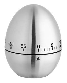 """Kurzzeitmesser """"Ei"""" Edelstahl 38.1026 - 1"""