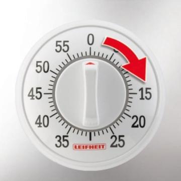Leifheit 22600 Kurzzeitmesser Signature, Weiß -