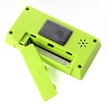 Neuftech® digitaler Kitchen Timer Küchentimer Küchenwecker Kurzzeitmesser mit Magnet und LCD Display - grün -
