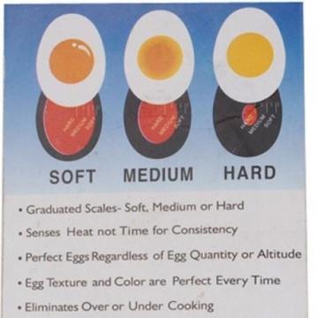 SODIAL(R) Farbe Ver?nderung Eieruhr Perfekt Gekochte Eier -