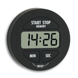 TFA 38.2022.01 elektronischer Timer und Stoppuhr Schwarz - 1