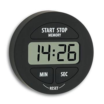 TFA 38.2022.01 elektronischer Timer und Stoppuhr Schwarz -