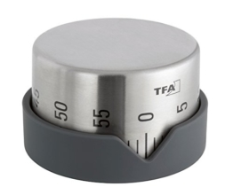 TFA Dostmann Küchentimer Dot 38.1027.10, anthrazit -