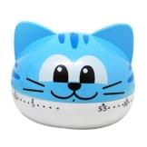Belons Katze Kätzchen Mechanischer Küche-Timer 55 Minuten Countdown Zeitmesser Kurzzeitwecker Manueller Zeitgeber Erinnerung Alarm Eieruhr - 1