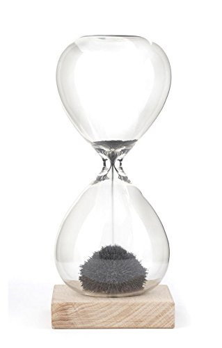 Kikkerland ST05 Sanduhr, Glas, transparent, 9 x 9 x 21 cm - 1