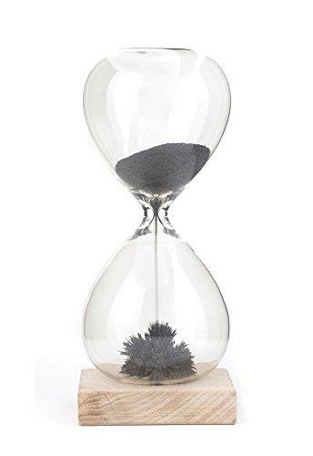 Kikkerland ST05 Sanduhr, Glas, transparent, 9 x 9 x 21 cm - 2