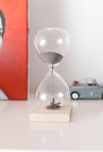 Kikkerland ST05 Sanduhr, Glas, transparent, 9 x 9 x 21 cm - 3
