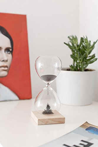 Kikkerland ST05 Sanduhr, Glas, transparent, 9 x 9 x 21 cm - 5