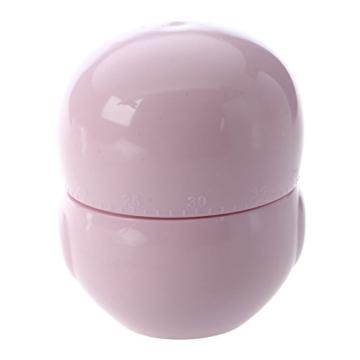 Kuechentimer - SODIAL(R) Eule Ei-Uhr Kurzzeitwecker Kurzzeitmesser Eieruhr Eiermesser Kuechentimer (1-60 Minuten) (Rosa) - 2