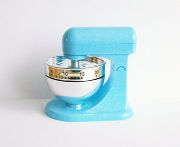 KURZZEITMESSER Mixer Eieruhr bis 60 min. Küchentimer Wecker Küchenuhr Timer Stoppuhr 3 Farben 6 (Blau) -