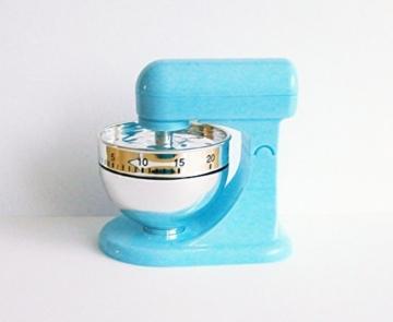 KURZZEITMESSER Mixer Eieruhr bis 60 min. Küchentimer Wecker Küchenuhr Timer Stoppuhr 3 Farben 6 (Blau) - 1