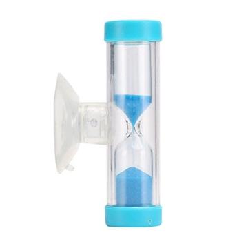 Mini Sanduhr Sanduhr Sand Timer Uhr 180 Sekunden 3 Minuten Kochen Blau Eieruhren - 2