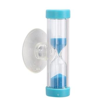 Mini Sanduhr Sanduhr Sand Timer Uhr 180 Sekunden 3 Minuten Kochen Blau Eieruhren - 1
